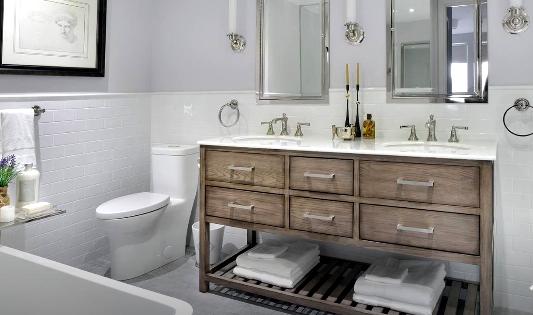 remodeled bathroom in kirkwood