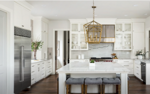 newly remodeled kitchen in st. louis